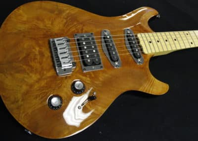 Rahan Guitars RP Double Cut Figured Maple – New
